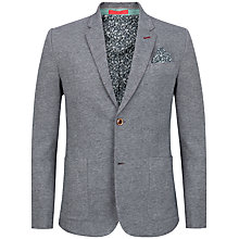 Buy Ted Baker Treeper Jersey Blazer, Grey Online at johnlewis.com