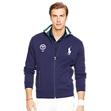Buy Polo Ralph Lauren Full Zip Wimbledon 2015 Jersey Top Online at johnlewis.com