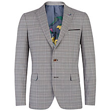 Buy Ted Baker Havaen Check Suit Jacket, Natural Online at johnlewis.com