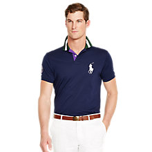 Buy Polo Ralph Lauren Wimbledon Ball Boy Polo Shirt, French Navy Online at johnlewis.com