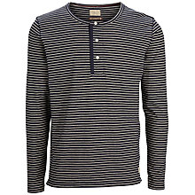 Buy Selected Homme Shheritage Stripe Long Sleeve Shirt, Navy Blazer Online at johnlewis.com