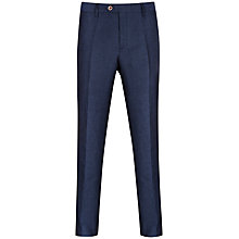 Buy Ted Baker Nitetro Herringbone Linen Blend Trousers Online at johnlewis.com