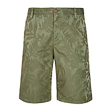 Buy BOSS Orange Sairy Shorts, Green Online at johnlewis.com