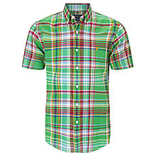 Buy Polo Ralph Lauren Check Short Sleeve Shirt Online at johnlewis.com
