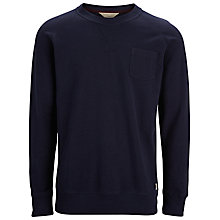Buy Selected Homme Zappa Sweatshirt, Navy Blazer Online at johnlewis.com
