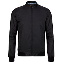 Buy Ted Baker Bington Bomber Jacket, Black Online at johnlewis.com