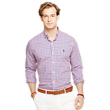Buy Polo Ralph Lauren Gingham Poplin Regular Fit Shirt Online at johnlewis.com