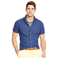Buy Polo Ralph Lauren Regular Fit Short Sleeve Oxford Shirt Online at johnlewis.com