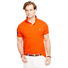 Buy Polo Ralph Lauren Wimbledon Mesh Polo Shirt Online at johnlewis.com