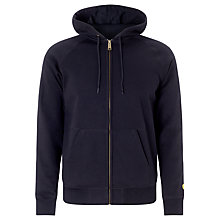 Buy Carhartt Chase Sweat Jacket, Black Online at johnlewis.com