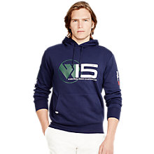 Buy Polo Ralph Lauren RLX Wimbledon Hoodie, French Navy Online at johnlewis.com