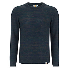 Buy Carhartt Accent Knit Jumper, Black Forest Online at johnlewis.com