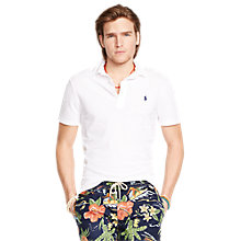 Buy Polo Ralph Lauren Custom Fit Cotton Polo Shirt Online at johnlewis.com