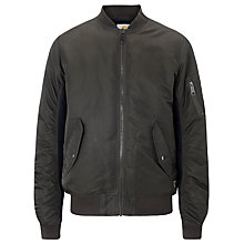 Buy Carhartt Ashton Bomber Jacket, Blackforrest Online at johnlewis.com