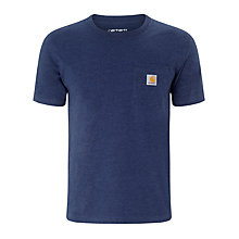 Buy Carhartt Short Sleeve Pocket T-Shirt Online at johnlewis.com