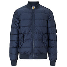 Buy Carhartt Quilted Bryant Jacket, Navy Online at johnlewis.com