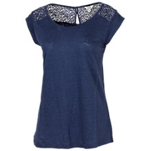 Buy Fat Face Linen Laverton T-Shirt Online at johnlewis.com