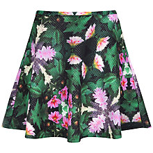 Buy Ted Baker Kaleidoscope Flippy Skirt, Dark Green Online at johnlewis.com