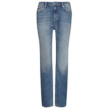 Buy Whistles Light Wash Boyfriend Jeans, Pale Denim Online at johnlewis.com