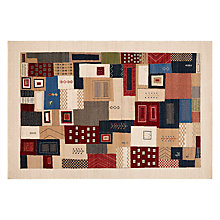 Buy Royal Heritage Kazak Patchwork Rug Online at johnlewis.com