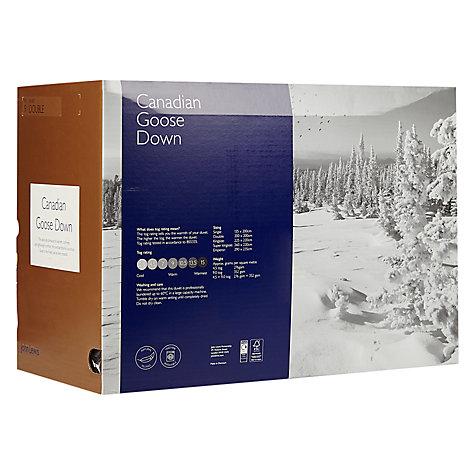 Buy John Lewis Canadian Goose Down Duvet, 9 Tog   John Lewis