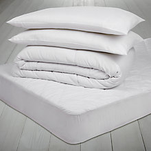 Buy John Lewis The Basics Bedding Set, 10.5 Tog Online at johnlewis.com