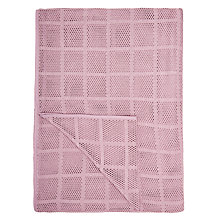 Buy John Lewis Aircell Blanket, Amethyst Online at johnlewis.com