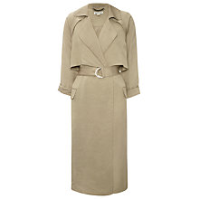 Buy Whistles Laura Soft Trench Coat Online at johnlewis.com
