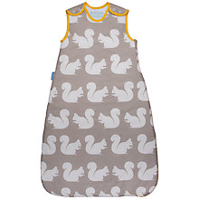 Buy Grobag Anorak Squirrels Sleep Bag, 2.5 Tog, Brown/White Online at johnlewis.com
