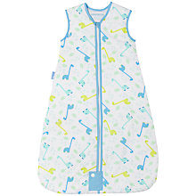 Buy Grobag Little Dino Baby Sleep Bag, Tog 2.5, Blue/Multi Online at johnlewis.com