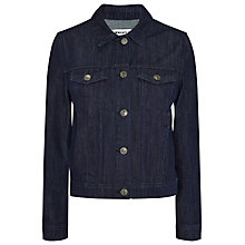 Buy Whistles Classic Denim Jacket, Navy Online at johnlewis.com
