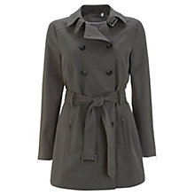 Buy Mint Velvet Trench Coat, Khaki Online at johnlewis.com