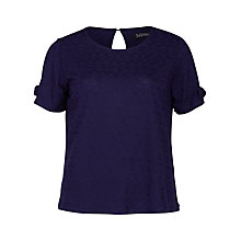 Buy Sugarhill Boutique Iris Textured Boxy T-Shirt Online at johnlewis.com