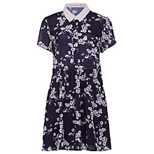 Buy Sugarhill Boutique Daisy Print Shirt Dress, Navy / Cream Online at johnlewis.com