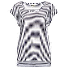 Buy Whistles Striped Seam Back T-Shirt, Blue Multi Online at johnlewis.com