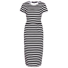 Buy Sugarhill Boutique Striped Shift Dress, Black/White Online at johnlewis.com