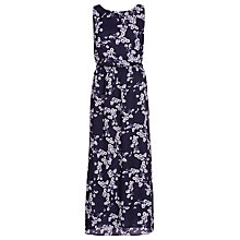 Buy Sugarhill Boutique Daisy Print Maxi Dress, Navy / Cream Online at johnlewis.com