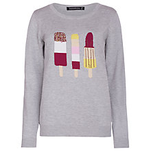 Buy Sugarhill Boutique Ice Lolly Jumper, Grey Marl Online at johnlewis.com