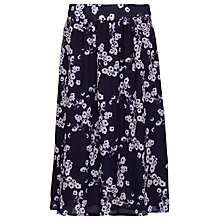 Buy Sugarhill Boutique Daisy Print Midi Skirt, Navy / Cream Online at johnlewis.com