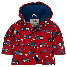Buy Hatley Baby Tractor Raincoat, Red Online at johnlewis.com