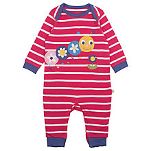 Buy Frugi Baby Charlie Caterpillar Babygrow, Multi Online at johnlewis.com