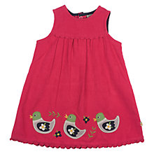 Buy Frugi Baby Cord Duck Dress, Multi Online at johnlewis.com