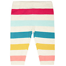 Buy John Lewis Baby's Striped Knit Leggings Online at johnlewis.com