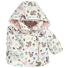 Buy John Lewis Baby's Woodland Wadded Coat, Multi Online at johnlewis.com