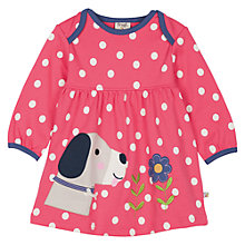 Buy Frugi Baby Spotted Dog Dress, Multi Online at johnlewis.com