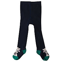 Buy Frugi Baby Twinkle Toe Tights, Navy Online at johnlewis.com