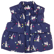 Buy John Lewis Baby's Rabbit Gilet, Multi Online at johnlewis.com