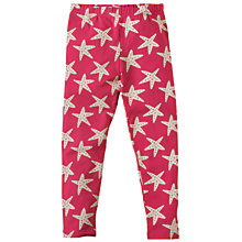 Buy Frugi Children's Libby Leggings, Pink Online at johnlewis.com