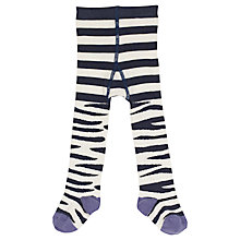 Buy Frugi Baby Norah Zebra Tights, Multi Online at johnlewis.com
