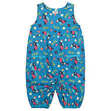 Buy Frugi Baby Katie Toucan Dungarees, Multi Online at johnlewis.com